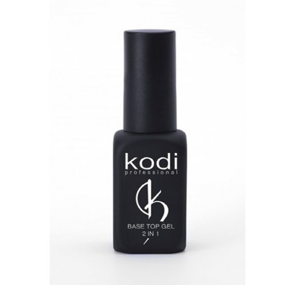 Kodi Professional Rubber Base/Top Coat 2 in 1 Soak Off Gel Polish Led UV 8ml 0.24 oz