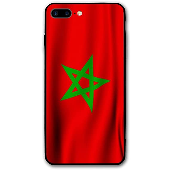 buy popular b9db4 4520a Amazon.com: 2018 Russia Top 32 Morocco IPhone 8 Plus Case, Ultra ...