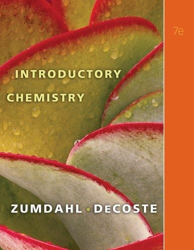 Read Online By Steven S. Zumdahl - Introductory Chemistry: 7th (seventh) Edition pdf epub
