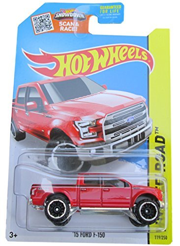 (Hot Wheels 2015 HW Off-Road '15 Ford F-150 F150 Pickup Truck Red )