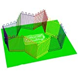 Super Pet SP60597 KayteeCritterTrail Playpen with Mat
