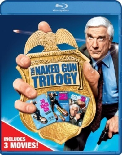 Blu-ray : The Naked Gun Trilogy Collection (Gift Set, Widescreen, Dolby, AC-3, Digital Theater System)