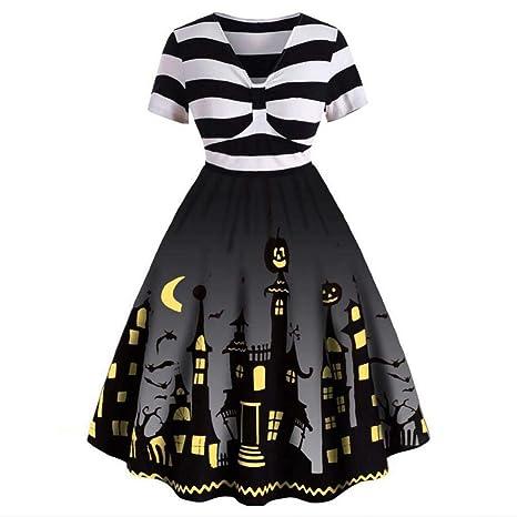 ERFD&GRF Disfraz de Halloween para Mujer Ama de casa de Manga ...