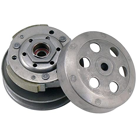 MORTCH embrague Pulley Assy GY6 50 cc CVT trasera para scooter ciclomotor ATV Go Karts: Amazon.es: Coche y moto
