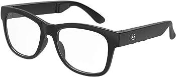 VocalSkull Black Audio Frames Wireless Bluetooth Sunglasses Bone Conduction Glasses Hands-Free Open …