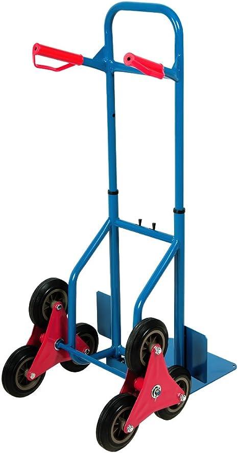 Froadp Pliable Chariots de Manutention en Acier avec Poign/ée et Roues R/églables en Hauteur /Évolutif Jusqu/à 60KG pour Bagages Transport Camping Achats Pique-nique Voyage