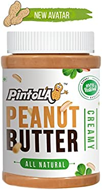 Pintola All Natural Creamy Peanut Butter, 1kg …