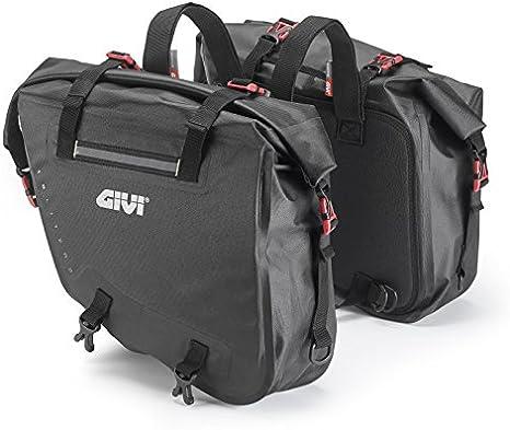 Borse bisaccia coppia Husqvarna 701 Enduro Givi GRT708 ogni 15 litri nero
