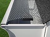 E-Z-GUTTER GUARD EZ-Quick-10 Aluminum Mesh Gutter Guards