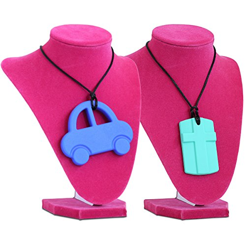 Silicone Necklace Baby safe Lead Free Phthalates Free product image