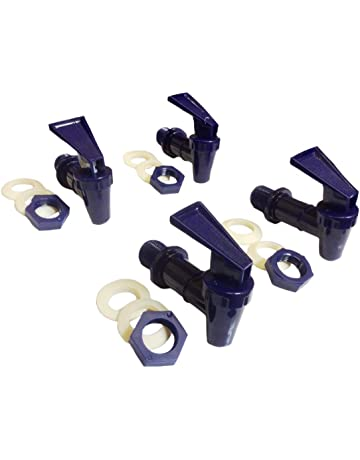 AquaNation BPA Free Replacement Cooler Faucet Water Bottle Jug Ceramic Water Crock Reusable Spigot Spout Water