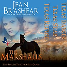 The Marshalls Boxed Set: The Marshalls Books 1-3: Texas Heroes Audiobook by Jean Brashear Narrated by Eric G. Dove