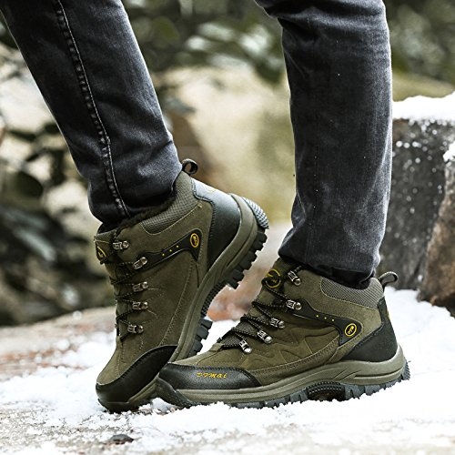 Women Green Plus 47 Shoes Size 48 Shoes Walking snfgoij Shoes High 46 Help Waterproof Hiking Velvet Warm Ladies Hiking wBznfRWqUt