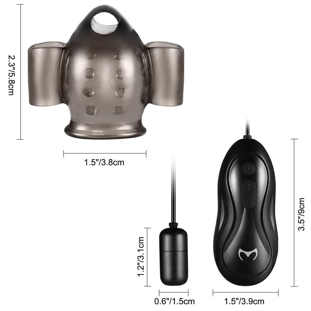 Utimi Retardo Vibrador Pene Cargando con Huevo Vibrador Estimulador Ejercicio Retardo Utimi Vibradores Juguetes Sexuales d09578