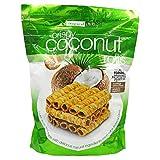 Tropical Fields Crispy Coconut Rolls with Sesame