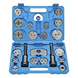 FreeTec 22pcs Professional Disc Brake Caliper Wind Back Tool Kit with Blue Case