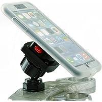 BuyBits Bundle Yoke 10 for iPhone 8 (4.7) Motorcycle Yoke Nut Mount & TiGRA RainGuard Case