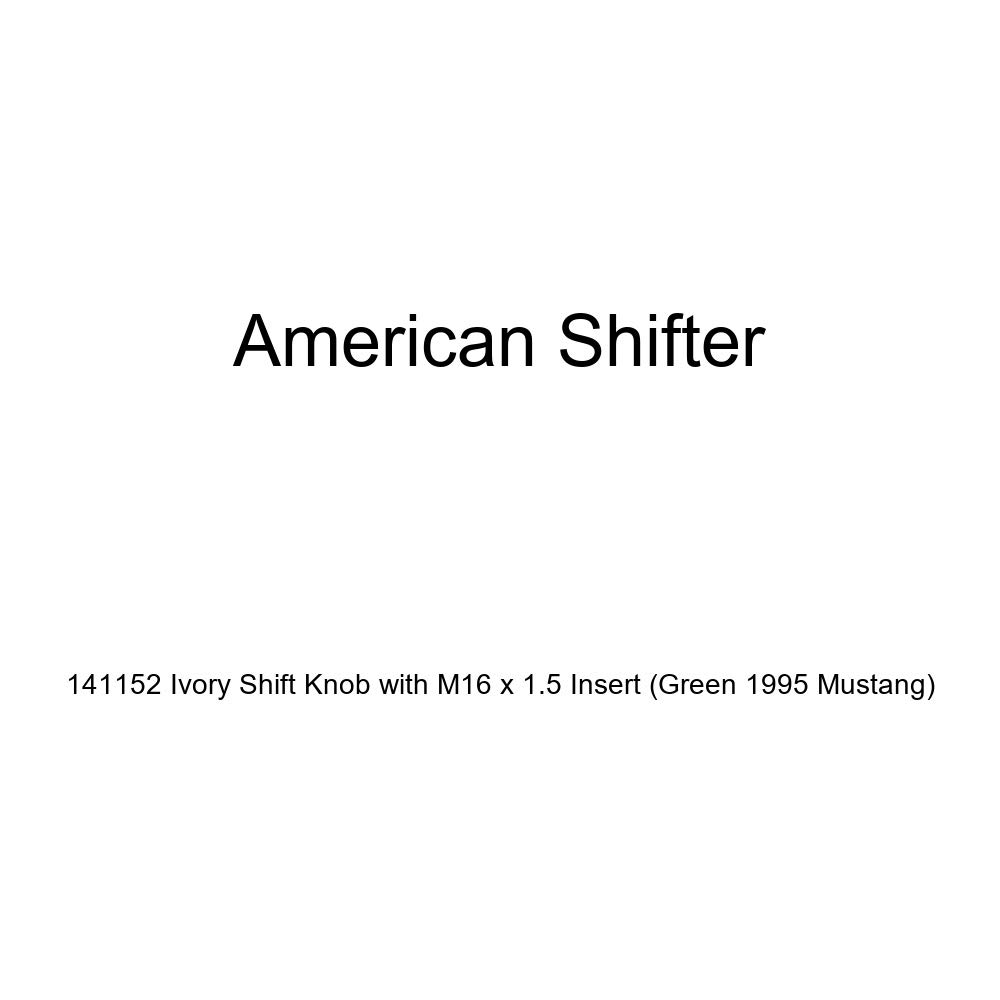 American Shifter 176671 Orange Retro Metal Flake Shift Knob with M16 x 1.5 Insert Yellow Broad Arrow Up