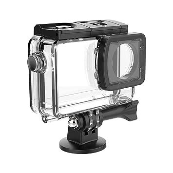 RLFS Funda Impermeable IP68 para SJCAM SJ8 Pro Sport Camera