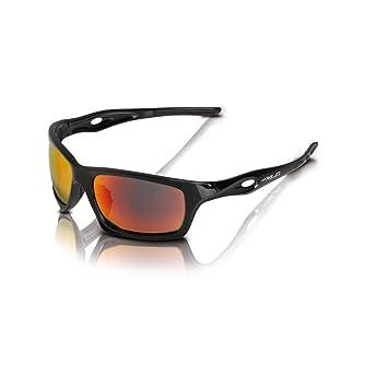 XLC Sonnenbrille Kingston SG-C16 Rahmen schwarz Gläser rot verspiegelt (1 Stück) iHA7rZGp