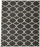 sweethome BCF1823-8X10 Grey Trellis shag Area Rug