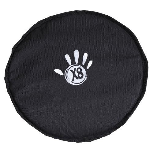 X8 Drums & Percussion X8-COVER-3M Waterproof Padded Djembe Hat, Medium ()