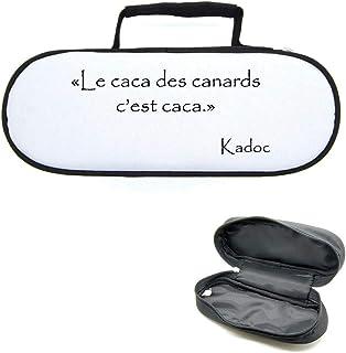 Mygoodprice Sacoche Housse pour Boules de pétanque Kaamelott Caca Canard