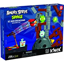 K'Nex Angry Birds - Space Ice Bird Breakdown Building Set [239 Pieces]