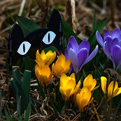 (EyeShine CatEyes Decorative Garden Sculpture Yard Art Bulb Marker Outdoor)