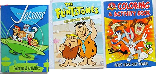 - Classic 3 Cartoons Coloring Book Flintstones Jetsons Looney Tunes