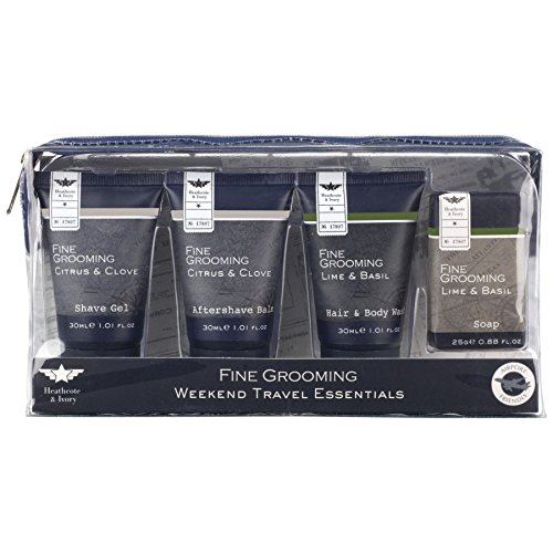 Heathcote & Ivory Fine Grooming Weekend Travel Essentials (PACK OF 6) by Heathcote & Ivory