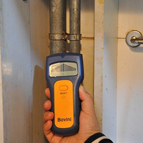 Stud Finder - Bovini MultiScanner Stud Sensor - Digital Wall Stud Finder Wood - Electronic Wall Scanner with Live AC WireWarning Detection Deep Scanning for Live AC Wire, Metal, Studs by Bovini (Image #6)