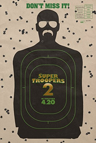 "Super Troopers 2 - Authentic Original 27"" x 40"" Movie Poster"