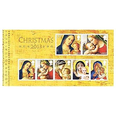 Noël 2013Timbre de la Vierge à l'Enfant, paquets, Mini Feuilles de présentation, Phq/cartes postales Mini Sheet