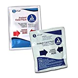 Dynarex Instant Cold Pack, 4 Inches x 5 Inches (72 Instant Cold Packs)