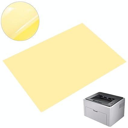 A4 sheet 210x297mm Sign vinyl gloss transparent clear -