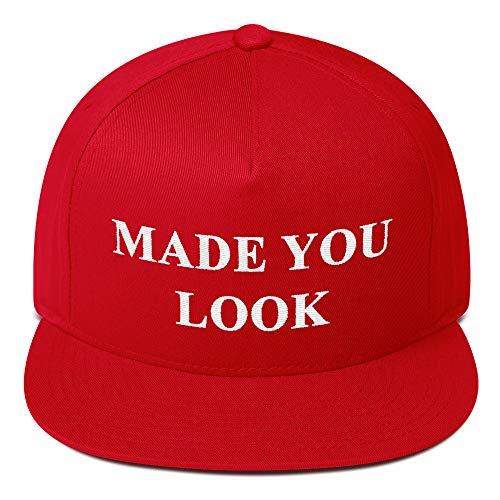 K.B. Cleveland Supply MAGA Hat Make America Great Again - Trump Inspired - Made You Look Flat Bill Cap -