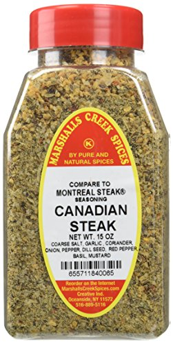 Marshalls Creek Spices Compare to Montreal Seasoning, Canadian Steak, New Size, 15 Ounce