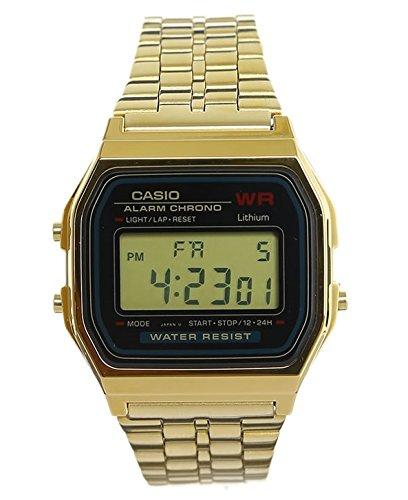 casio gold watch digital - 1