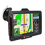 GPS Navigation for Car 7 Inch Vehicle GPS Navigation Portable Truck Navigator Touch Screen Multimedia Pre-Installed North America Lifetime Maps Free Update