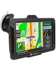 GPS Navigation for Car 7 Inch Vehicle GPS Navigation Car System 8G Memory Portable Truck Navigator Touch Screen North America Lifetime Maps Update for Free