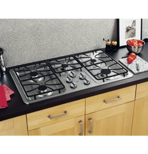 Cooktop Burners Precise Dishwasher Safe Stainless