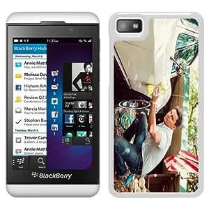 channing tatum actor car White New Design Phone Case For Blackberry Z10 Case