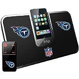 iHip NFL Tennessee Titans Portable Premium iDock with Remote Control HPFBTENIDP