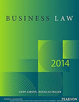 andy gibson and douglas fraser business law pdf
