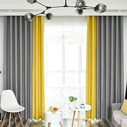 Editors' Choice: 96 Inch Long Linen Textured Curtains