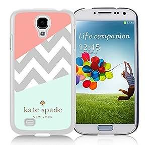 Samsung Galaxy S4 I9500 Kate Spade 108 White Cellphone Case Personalized and Unique Design