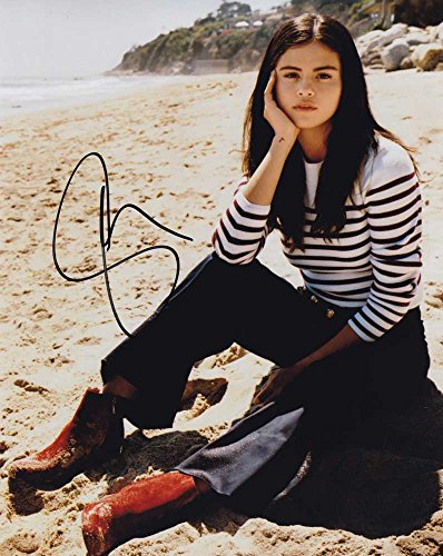 Selena Gomez In-person Autographed Photo Gomez Autographed Photo