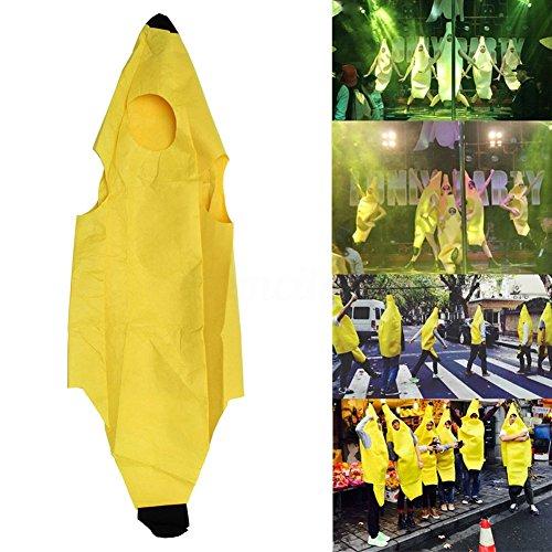 yanQxIzbiu Kids Children Unisex Banana Fruit Halloween Party Fancy Dress Costume Outfit