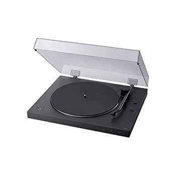 Sony PS-LX310BT Belt Drive Turntable: Fully Automatic Wireless Vinyl Record Player with Bluetooth and USB